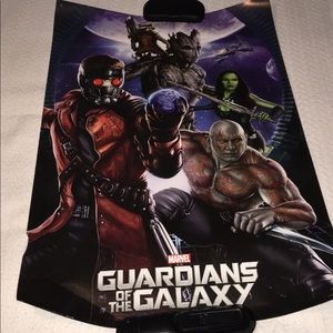 Hot Topic Guardians Of the Galaxy Poster